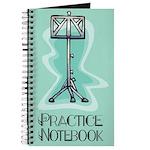 Musician Practice Notebook Journal