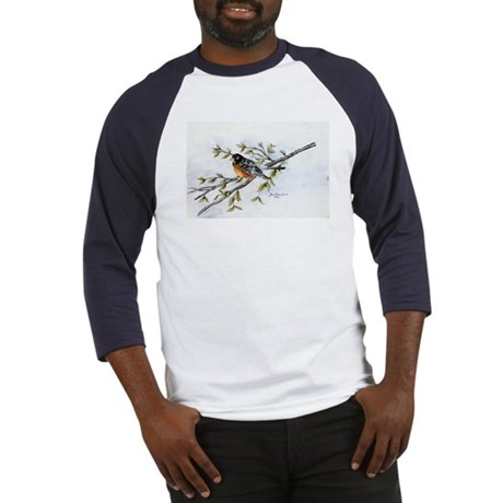 """""""Robin Bird"""" Baseball Jersey"""