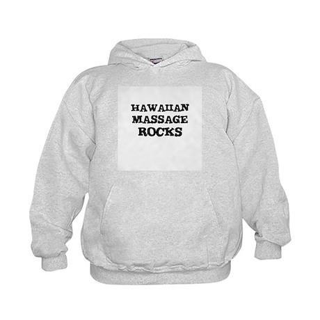 HAWAIIAN MASSAGE ROCKS Kids Hoodie