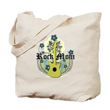 Rock Mom Tote Bag