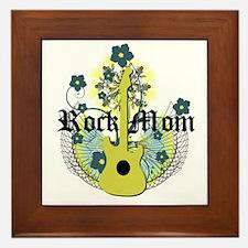 Rock Mom Framed Tile