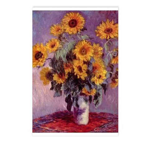 Claude Monet Postcards (Package of 8)