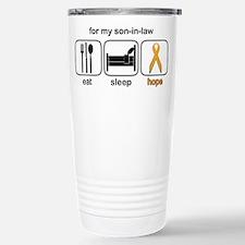 Son-in-law ESHope Leukemia Travel Mug