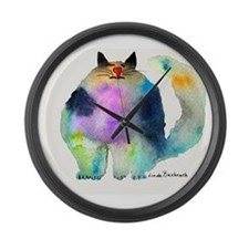 The Bouncer Large Wall Clock