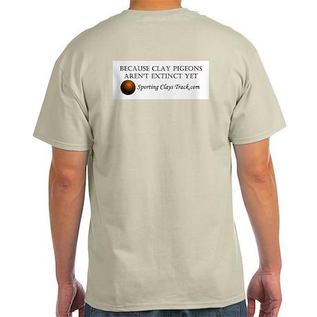 Sporting Clays Track T-shirt (ash grey)