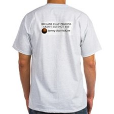Sporting Clays Track T-shirt (ash grey)