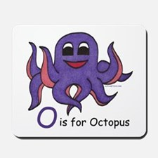 O is for Octopus Mousepad