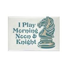 Chess Knight Rectangle Magnet (10 pack)