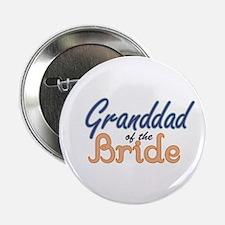 """Granddad of the Bride 2.25"""" Button"""