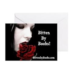 Vampire Girl Greeting Cards (Pk of 10)