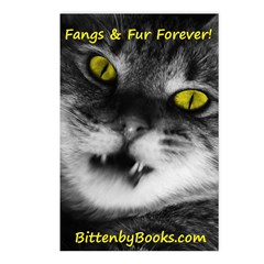Vampire Cat Postcards (Package of 8)