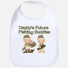 Daddy's Future Fishing Buddies Bib