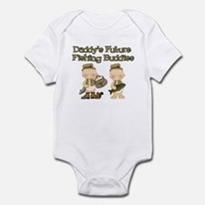 Daddy's Future Fishing Buddies Infant Bodysuit