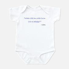 Order and Debate Infant Bodysuit
