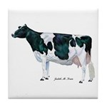 Holstein Cow Tile Coaster