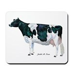 Holstein Cow Mousepad
