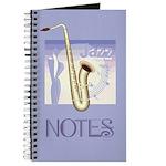 Stylish Jazz Music Journal Notebook