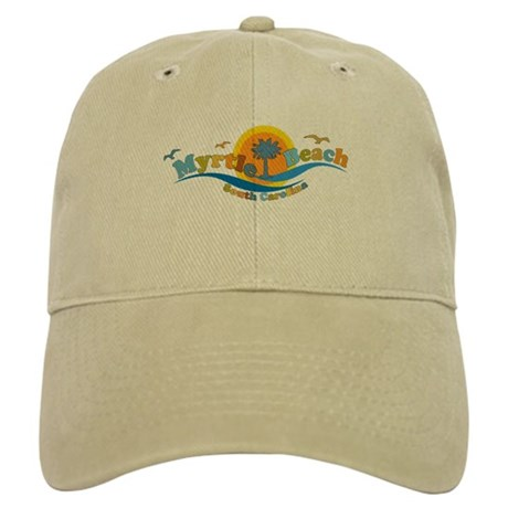 Myrtle Beach SC - Waves Design Cap