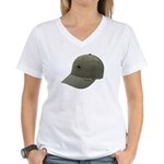I Tried To Hijack A U S Ship Women's V-Neck T-Shir