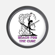 Cute Cancer tree Wall Clock