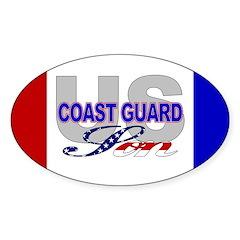 US Coast Guard Son Oval Decal