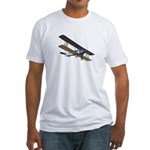 Biplane Fitted T-Shirt