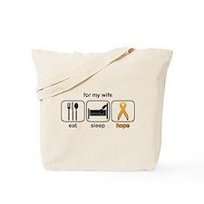 Wife ESHope Leukemia Tote Bag