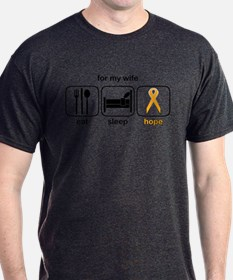 Wife ESHope Leukemia T-Shirt