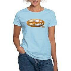 Let Go & Let God: Orange T-Shirt