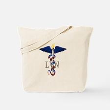 LVN Caduceus Tote Bag