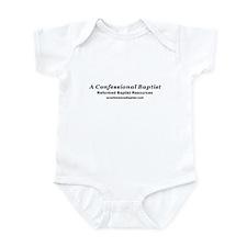 A Confessional Baptist Infant Bodysuit