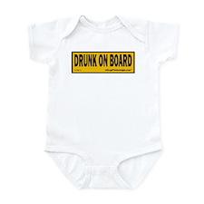 Drunk on Board Infant Bodysuit