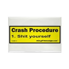 Crash Procedure Rectangle Magnet