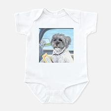 Driving Riley - Shih Tzu Infant Bodysuit