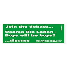 Bin Laden Bumper Bumper Sticker