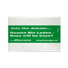 Bin Laden Rectangle Magnet