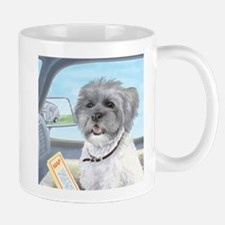 Driving Riley - Shih Tzu Mug