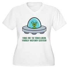 Alien Genealogist T-Shirt