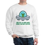 Alien Genealogist Sweatshirt