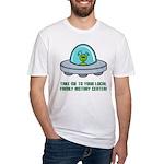 Alien Genealogist Fitted T-Shirt