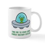 Alien Genealogist Mug