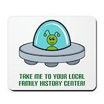 Alien Genealogist Mousepad