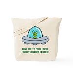 Alien Genealogist Tote Bag