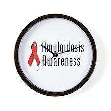 Amyloidosis Awareness Wall Clock