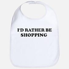 Rather be Shopping Bib