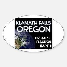 klamath falls oregon - greatest place on earth Sti