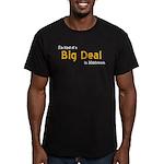 Scott Designs Big Deal Men's Fitted T-Shirt (dark)