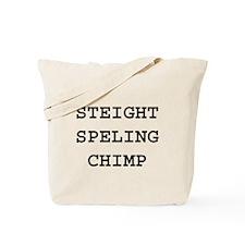 Unique Chimp Tote Bag
