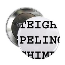 "Cute Spelling bee 2.25"" Button"