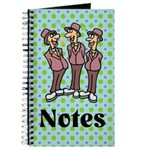 Silly Singers Choir Music Notes Journal